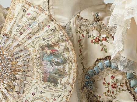 Robe and petticoat, Sack back gown, Dress, France, 1770-1780, <br />© Victoria and Albert Museum, London