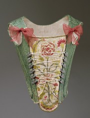 Corset, late 18th century, Spanish (probably), Metropolitan Museum of Art, NY